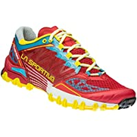 La Sportiva Bushido Woman Calzado Running, Mujer, Rojo, 40