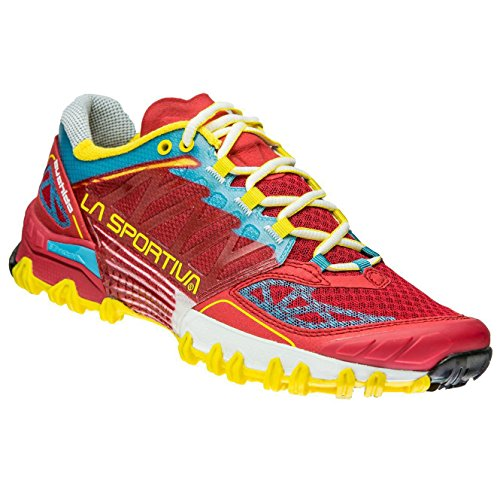 La Sportiva Bushido Woman Calzado Running, Mujer, Rojo, 37