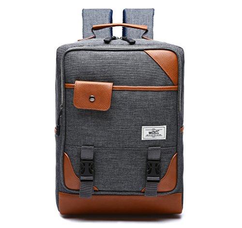 Unisex Borsa zaino scuola borsa per laptop da 15, Borsa per Notebook, Laptop, Compatibile con Dell, Asus, MSI (15pollici)