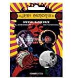 Jimi Hendrix - Official Badge Pack - New