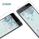 Vkaiy HTC U Ultra Panzerglas Schutzfolie, [2 Stück] Ultra-Klar Glas 9H Härte 3D Touch Kompatibel Anti-Kratzen, Anti-Öl, Anti-Bläschen für HTC U Ultra