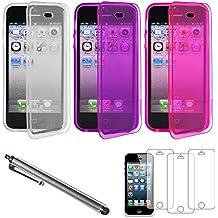 lot de 5 coque iphone 5s