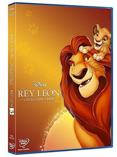 Duopack: Trilogía Rey León 2015 [DVD]