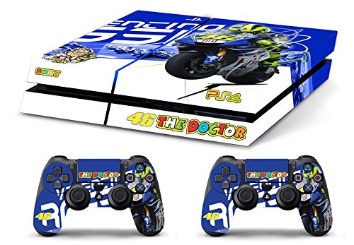 Price comparison product image Skin PS4 HD VALENTINO ROSSI THE DOCTOR 46 - limited edition DECAL COVER ADESIVA playstation 4 SONY BUNDLE [