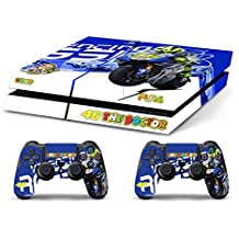 Skin PS4 HD VALENTINO ROSSI THE DOCTOR 46 - limited edition DECAL COVER ADHESIVO playstation 4 SONY BUNDLE