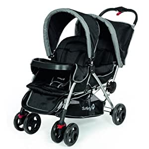 Safety 1st Duodeal Tandem Pushchair (Black Sky)