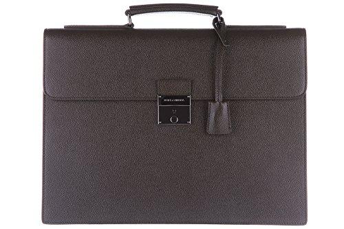 Dolce&Gabbana borsa lavoro portadocumenti pc notebook cartella pelle verde