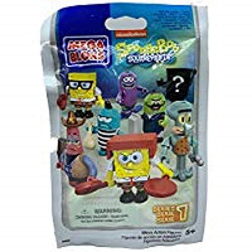 Mega Bloks SpongeBob 94600-Micro Action Figures Series 1 (24PCs/Display) (NEW)