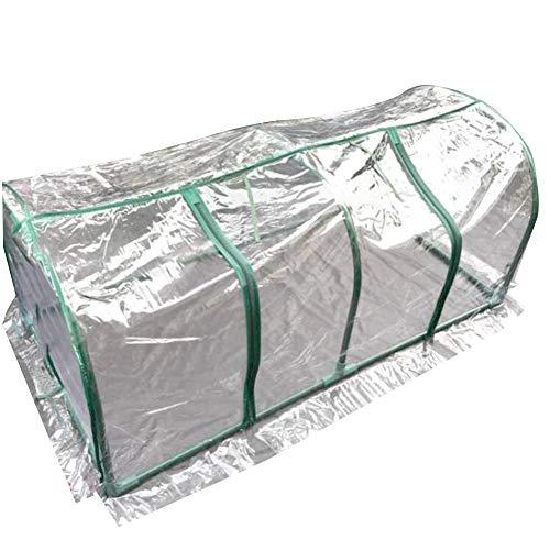 LIANGLIANG-Serre de jardin Jardinage Portable Mini Plantes Succulentes Plastique Résistant À La Déchirure De Préservation De La Chaleur en Plastique PVC Résistance