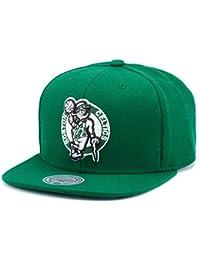 _amp; Mitchell Ness Casquette Snapback Motif Logo NBA Boston Celtics