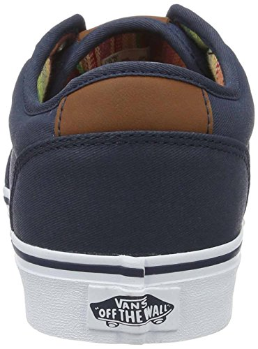 Vans Mn Atwood Dx, Sneakers Basses Homme Bleu (Waxed)