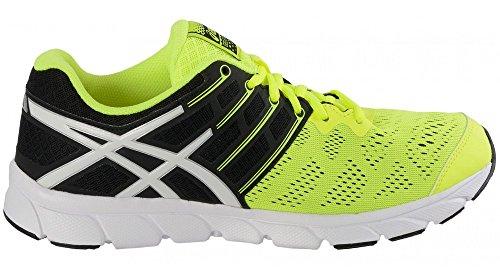 Asics Gel-Evation chaussure de running Homme Jaune (Noir/Blanc)