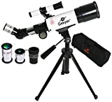 Best Telescopes - Gskyer Telescope, 60mm Aperture 350mm AZ, Travel Refractor Review