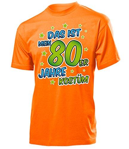 Golebros 80er Jahre Kostüm Männer Tshirt Motto Schlager Party Karneval Fasching Schlageroutfits Paarkostüm Oberteil Schlagerfan Overall Perücke Sonnenbrille