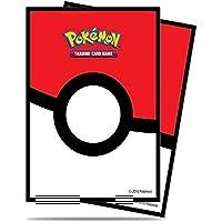 Ultra Pro 14575 Lot de 65 Pochettes de Protection pour Deck Pokémon Poké Ball