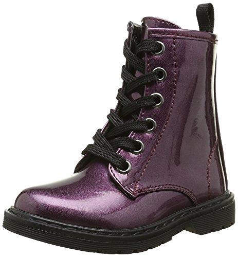 ASSOAnfibio - Stivali da motociclista a metà polpaccio Bambina , viola (Porpora (Violet)), 38 EU