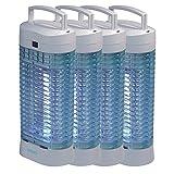 4er Set Insektenvernichter DOMO KX006N/1 Mückenfalle ohne Chemie