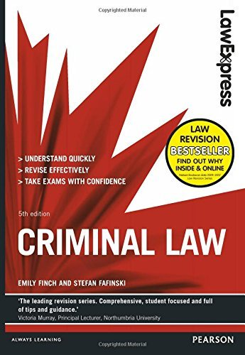 Law Express: Criminal Law by Emily Finch (2014-08-01)