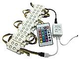 YXH 12V 5050 Kit de LED Module étanche RGB (télécommande et contrôleur)