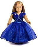 "American Girl Doll Clothes Cinderella Inspired Costume Set For 18"" American Girl Dolls"