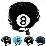Skullcap® BMX Helm ☢ Skaterhelm ☢ Fahrradhelm ☢, Herren   Damen   Jungs & Kinderhelm, schwarz matt & glänzend