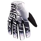ONeal Matrix schwarz/weiß Handschuhe Downhill Enduro MTB FR Moto Cross Mountain Bike, 0475-6, Größe Small