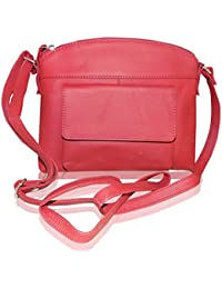 Style98 100% Genuine Leather Unisex Crossbody Sling Bag