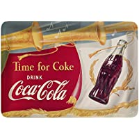 Platex 14 x 10 cm Coca Cola Trompet bandeja de melamina blanco