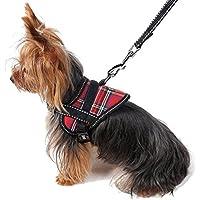 DealMux reflectante cachorro de perro del correo del arnés ajustable Set Pequeño chaleco de seguridad para mascotas perro