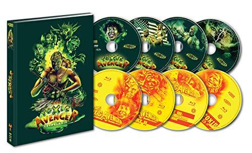 Image de TOXIC AVENGERS QUADRILOGIE [Édition Mediabook Collector Blu-ray + DVD]