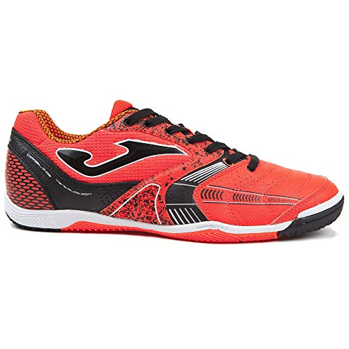 -Joma Scarpe Indoor Futsal Dribling 808 Orange (40)