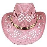 Silver Fever Damen Cowboyhut One Size Gr. One Size, Pink, Beaded