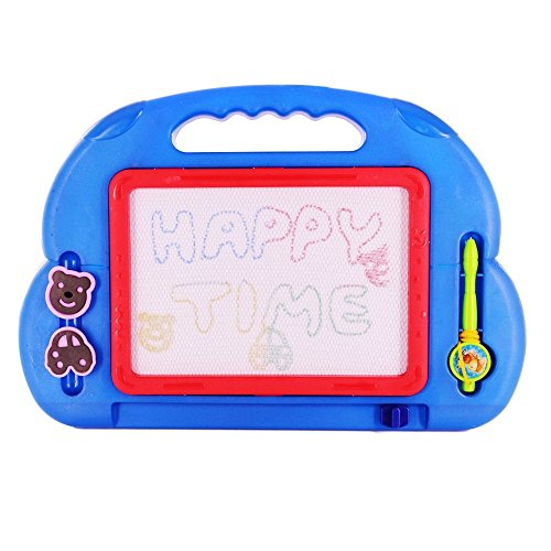 beby-4-color-doodle-drawing-board-magic-erasable-sketch-writer-learning-toy-with-2-magnetic-stampers
