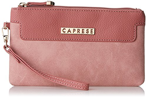 Caprese Women's Clutch (Dull Pink)  available at amazon for Rs.1150