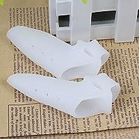 Fuß Daumen Displayschutzfolie, qind 2Gel Foot Care Ballenschutz Zehen Straightener Spreader weicher flexibler... preisvergleich bei billige-tabletten.eu