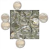 1 kg Glasnuggets 25/30 mm Deko Steine Glassteine Mosaiksteine