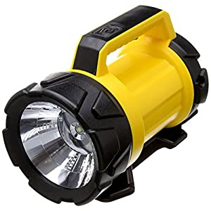 51BkhH7jJbL. SS300  - AA Heavy Duty LED Torch AA3881 – 180 m Beam Distance, Adjustable Base 6 Angles, 120 Lumens, Weatherproof, Batteries…