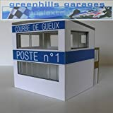 Greenhills Scalextric Slot Car Building Reims Marshalls Box Kit 1:43 Scale