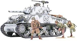 Tamiya M4 A3 Sherman 105mm, Howitzer - Maqueta de tanque escala 1:35