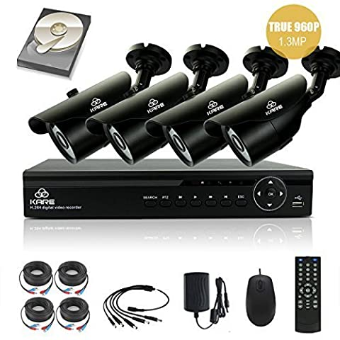 [TRUE 960p HD] SMART CCTV System, KARE 1080N DVR Recorder