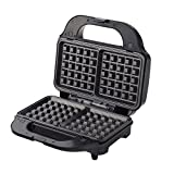 Wonderchef Prato 63152644 830-Watt 3 in 1 Sandwich Maker (Black)