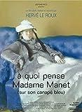 A quoi pense Madame Manet (sur son canapé bleu)