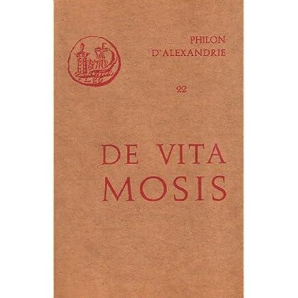 Oeuvres de Philon d'Alexandrie. De vita Mosis, volume 22