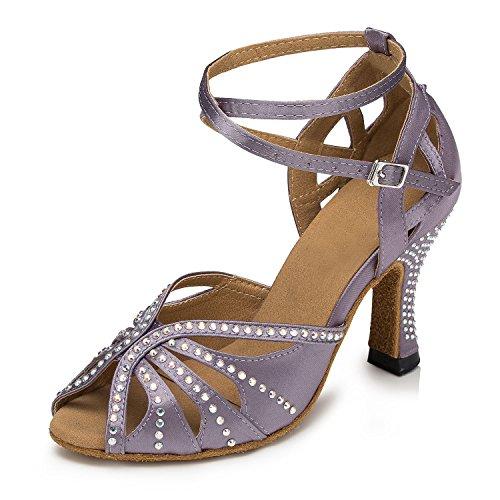 Miyoopark , Salle de bal femme Gray-8cm heel