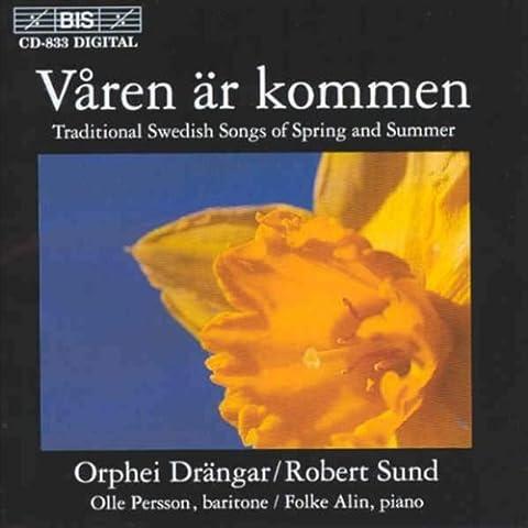 Våren Ar Kommen (Traditionelle Schwedische Lieder Von Frühling und Sommer)