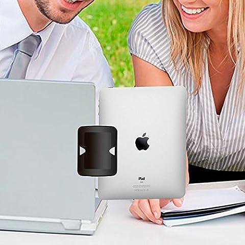 ereach clip laterale per iPad/iPhone Supporto per Monitor, funzionalità Dual
