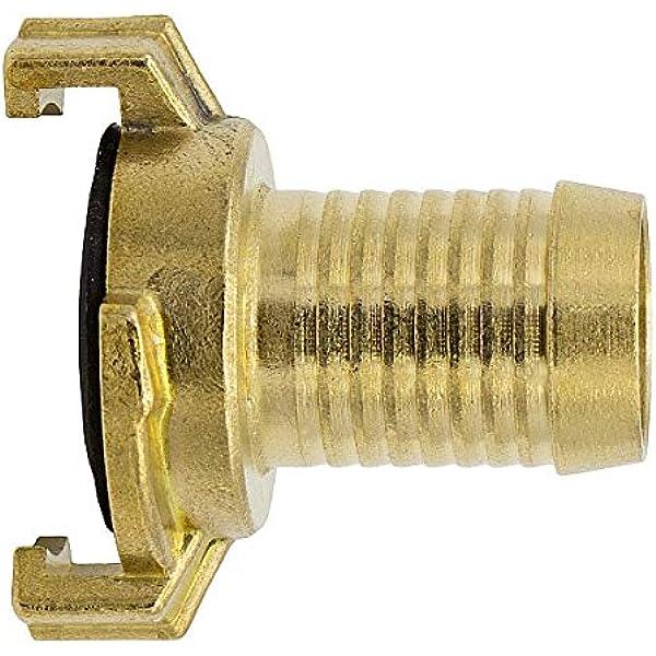 1x Mini Schnellkupplung Schlauchkupplung NW 2,7 mit Tülle Ø 5mm
