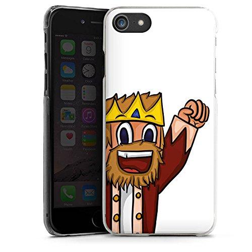 Apple iPhone X Silikon Hülle Case Schutzhülle MrMoregames Fanartikel Merchandise Youtuber Hard Case transparent