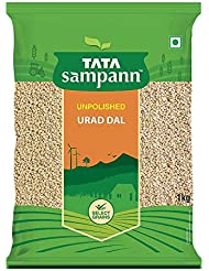 Tata Sampann Unpolished Urad Dal Split, 1kg