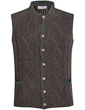 Almsach Strickjacke Gustl in Braun